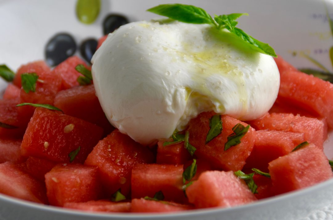 Watermelon & Burrata Salad